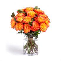 A'la nature - 20 szál narancssárga rózsa