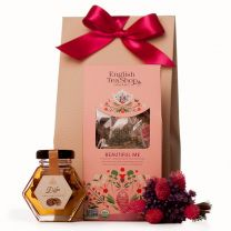 Anyák napi csomag teával és mézzel