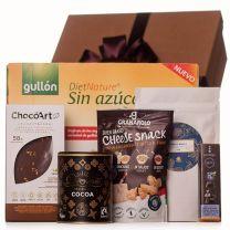 Cukormentes nagy ajándékdoboz finomságokkal