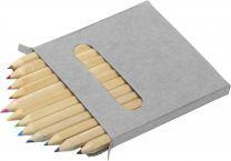 Színesceruza készlet papírdobozban