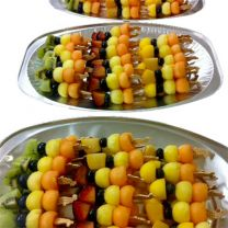 Gyümölcsnyársak, gyümölcscsokrok rendelése