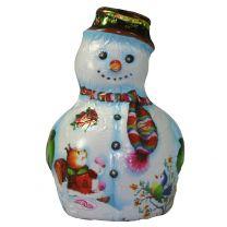Tejcsokis hóember figura