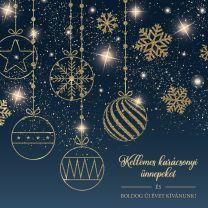 Kihajtható céges karácsonyi képeslap 2.