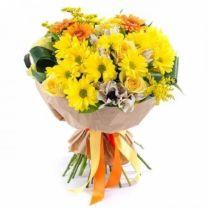 Tavaszi virágcsokrok országos kiszállítással