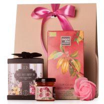 Különleges teás ajándékcsomag nőknek