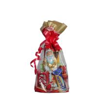 Mikulás csomag hóember csokidrazséval