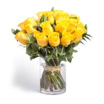 A'la nature - 20 szál sárga rózsa