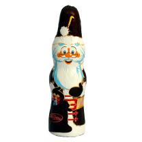 Szezonális karácsonyi mikulás figura étcsokoládéból