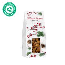 Karácsonyi fahéjas mandula logózható csomagolásban