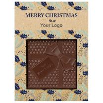 Karácsonyi logózható csokoládé