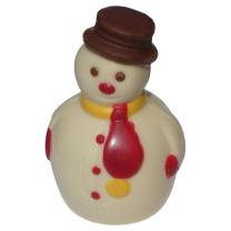 Kézműves hóember figura