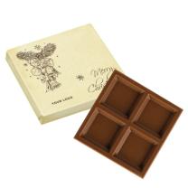 Emblémázható karácsonyi csokoládé cégeknek