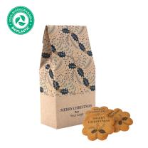 Logózható keksz logózható csomagolásban