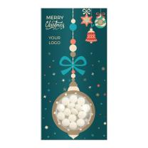 Logózható cukorka karácsonyra