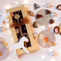 Logózható kézműves bonbon - karácsonyi céges ajándék