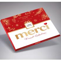 Logózott Merci csoki - céges ajándék