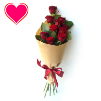 Vonzalom rózsacsokor