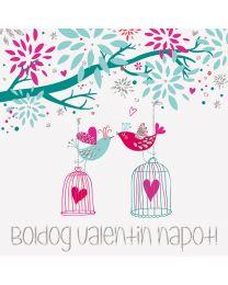 Valentin napi képeslap 1.