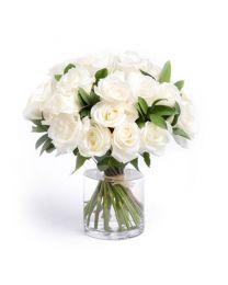 A'la nature - 15 szál fehér rózsa