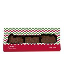 Karácsonyi csokoládé vonat 65g