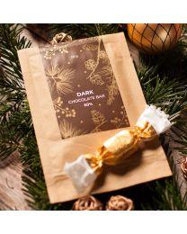 Csokoládé egyedi címkével - reklámcsoki