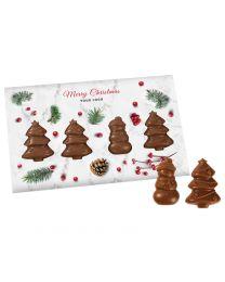 Logózható képeslap csokoládéval