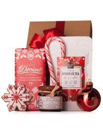 Ünnepi hangulatú karácsonyi ajándékcsomag