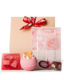 Valentin napi kozmetikum ajándékcsomag hölgyeknek