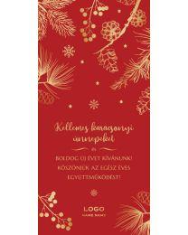 Logózható karácsonyi képeslap cégeknek