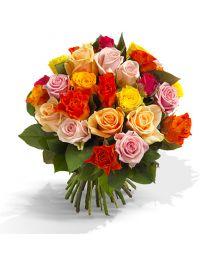 A'la nature - 40 szál színes rózsa