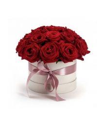 Örök szerelem rózsadoboz 15 szál