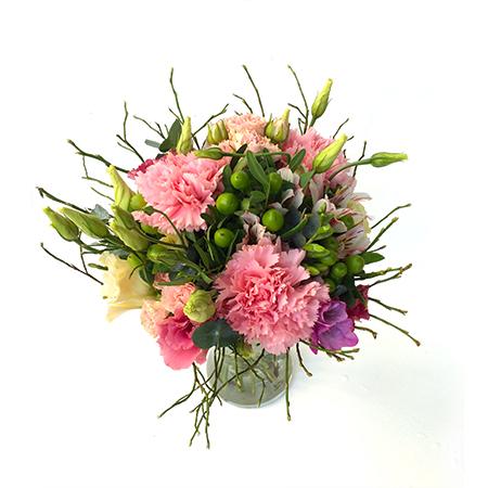 Bohókás virágcsokor névnapra