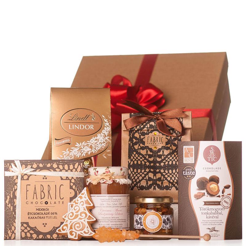 Kiskarácsonyi céges karácsonyi ajándékcsomag