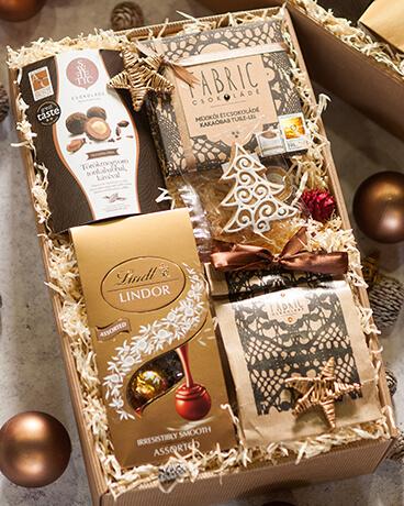 Karácsonyi üzleti ajándékcsomag