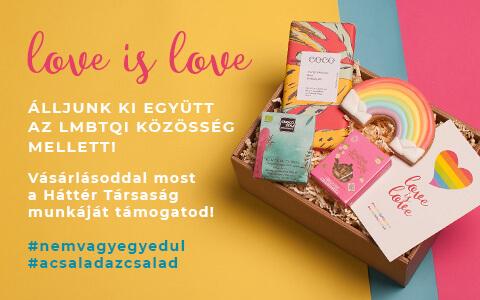 Love is love ajándékcsomag