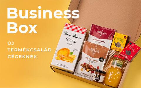 Business box, ajándék virtuális rendezvényre