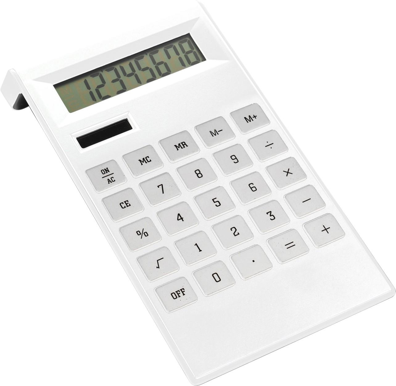logózott számológép